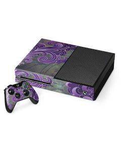 Purple Flourish Xbox One Console and Controller Bundle Skin