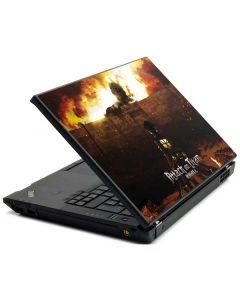 Attack On Titan Fire Lenovo T420 Skin