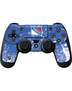 New York Rangers Frozen PS4 Controller Skin