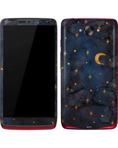 Moon and Stars Motorola Droid Skin