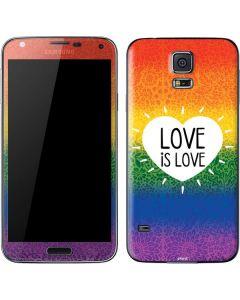 Love Is Love Rainbow Galaxy S5 Skin