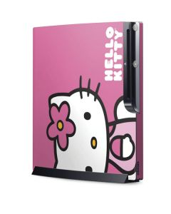 Hello Kitty Sitting Pink Playstation 3 & PS3 Slim Skin