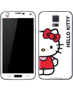 Hello Kitty Classic White Galaxy S5 Skin