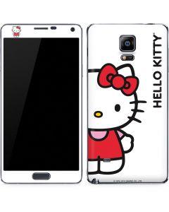 Hello Kitty Classic White Galaxy Note 4 Skin