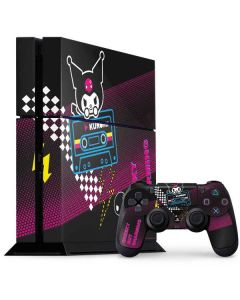 Kuromi Cheeky but Charming PS4 Console and Controller Bundle Skin