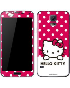 HK Pink Polka Dots Galaxy S5 Skin