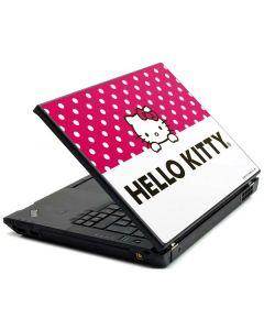 HK Pink Polka Dots Lenovo T420 Skin