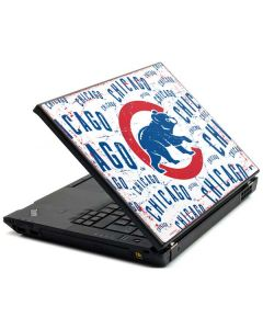 Chicago Cubs - White Cap Logo Blast Lenovo T420 Skin
