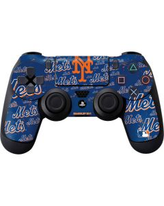 New York Mets - Cap Logo Blast PS4 Controller Skin