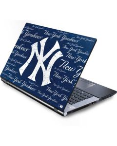 New York Yankees - Cap Logo Blast Generic Laptop Skin
