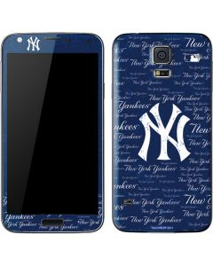 New York Yankees - Cap Logo Blast Galaxy S5 Skin