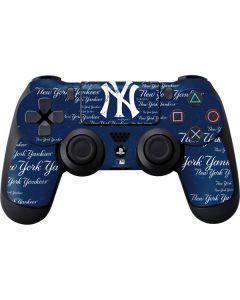 New York Yankees - Cap Logo Blast PS4 Controller Skin