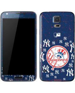 New York Yankees - Primary Logo Blast Galaxy S5 Skin
