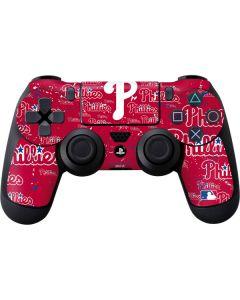 Philadelphia Phillies - Cap Logo Blast PS4 Controller Skin