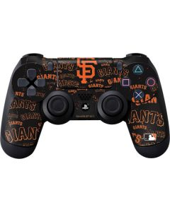San Francisco Giants - Cap Logo Blast PS4 Controller Skin