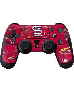 St. Louis Cardinals - Cap Logo Blast PS4 Controller Skin