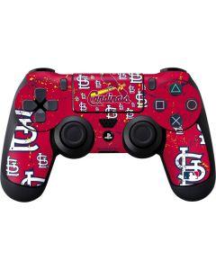 St. Louis Cardinals - Primary Logo Blast PS4 Controller Skin