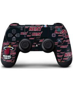 Miami Heat Blast PS4 Controller Skin