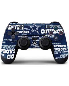 Dallas Cowboys Blast PS4 Controller Skin