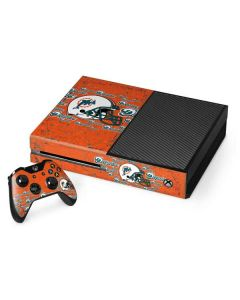 Miami Dolphins - Blast Xbox One Console and Controller Bundle Skin