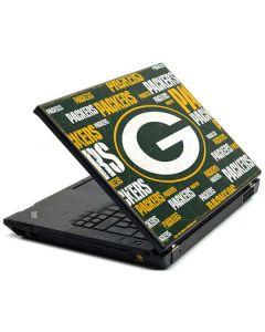 Green Bay Packers Blast Lenovo T420 Skin