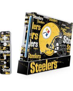 Pittsburgh Steelers - Blast Dark Wii (Includes 1 Controller) Skin