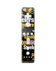 Pittsburgh Steelers - Blast Dark Wii Remote Controller Skin