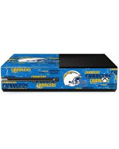Los Angeles Chargers - Blast Xbox One Console Skin