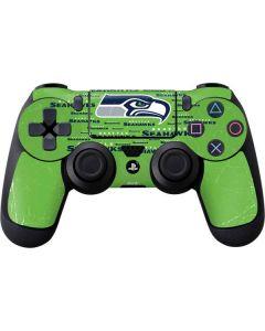 Seattle Seahawks Green Blast PS4 Controller Skin