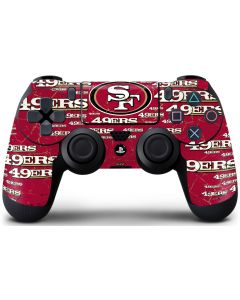San Francisco 49ers Blast PS4 Controller Skin