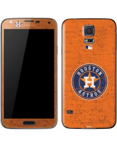 Houston Astros Distressed Galaxy S5 Skin
