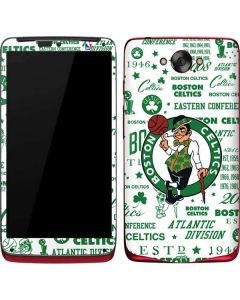 Boston Celtics Historic Blast Motorola Droid Skin