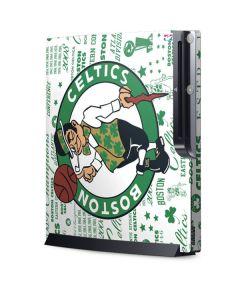 Boston Celtics Historic Blast Playstation 3 & PS3 Slim Skin