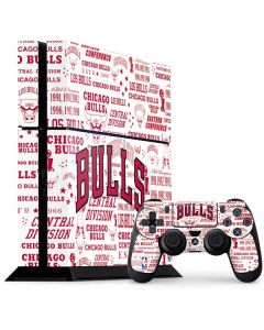 Chicago Bulls Historic Blast PS4 Console and Controller Bundle Skin