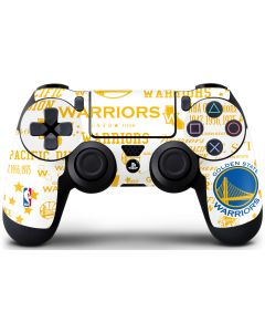 Golden State Warriors Historic Blast PS4 Controller Skin