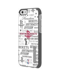 Houston Rockets Historic Blast Incipio DualPro Shine iPhone 6 Skin