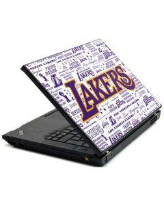 LA Lakers Historic Blast Lenovo T420 Skin