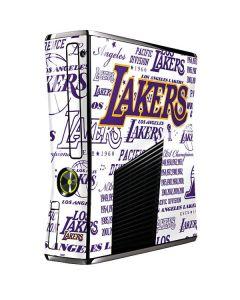 LA Lakers Historic Blast Xbox 360 Slim (2010) Skin