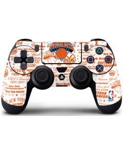 NY Knicks Historic Blast PS4 Controller Skin