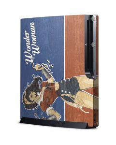 Wonder Woman Playstation 3 & PS3 Slim Skin