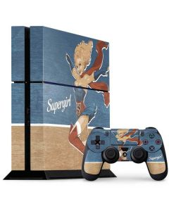 Supergirl PS4 Console and Controller Bundle Skin