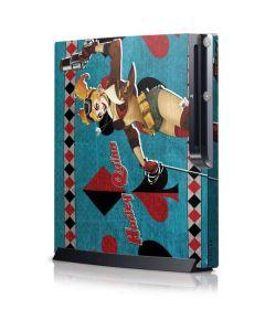 Harley Quinn Playstation 3 & PS3 Slim Skin