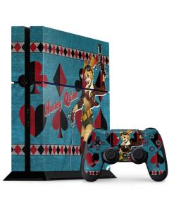 Harley Quinn PS4 Console and Controller Bundle Skin