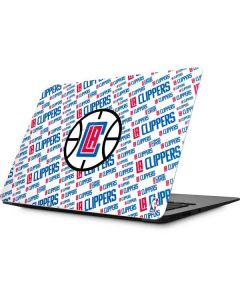 Los Angeles Clippers Blast Text Apple MacBook Skin