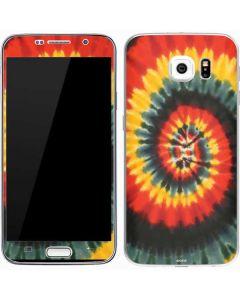 Tie Dye - Rasta Spiral Galaxy S7 Skin