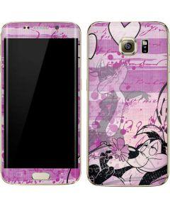 Pepe Le Pew Purple Romance Galaxy S7 Edge Skin