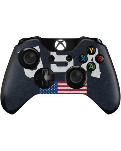 USA with American Flag Xbox One Controller Skin