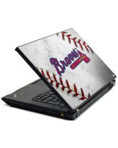 Atlanta Braves Game Ball Lenovo T420 Skin