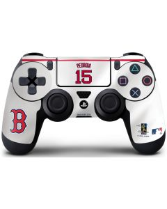 Boston Red Sox #15 Dustin Pedroia PS4 Controller Skin