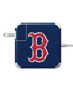 Boston Red Sox - Solid Distressed Apple Charger Skin